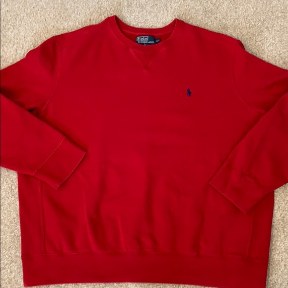 Polo by Ralph Lauren Other - Polo by Ralph Lauren Red Sweatshirt, XXL